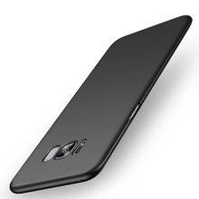 Phone Case For Samsung Galaxy S8 Case Супер Матовый Щит Задняя твердый Переплет Для Samsung Galaxy S8 Плюс Тонкий Популярные Бренды Капа