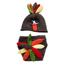 2017 Baby Sets Hand Knitting Baby Pictures Baby Clothing Turkey Modeling Photography Clothing Baby Cartoon Set -17 BM88