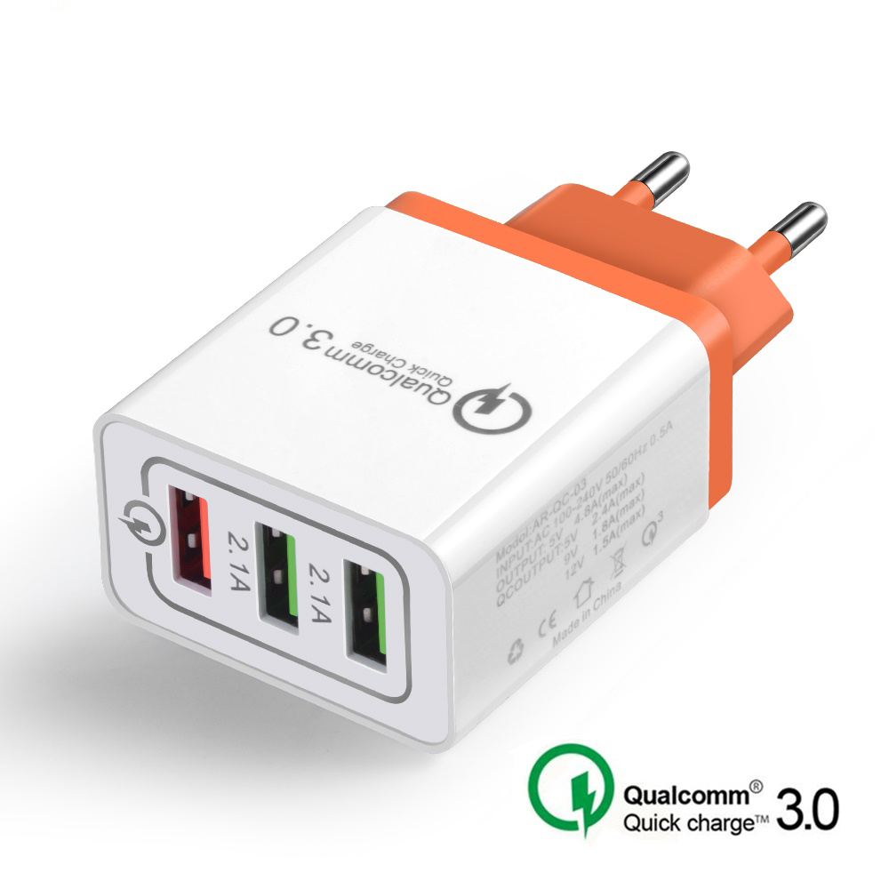 qc 3.0 fast charger for iphone sasmung huawei lg