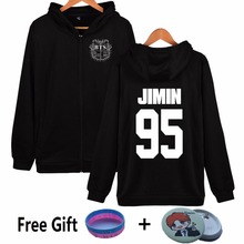 Shield Logo Kpop BTS Hoodies For Women Streetwear Black White 2017 Autumn Winter Fleece Clothing Bangtan Boys JIMIN V Sweatshirt
