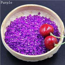 Good Quality 1000 Pcs Purple Acrylic Crystal Bling Confetti Wedding Party Decoration Romantic table Vase diamond High Clarity