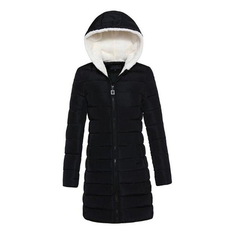 New Winter Jacket Women Warm Down Jacket Women High quality Long Slim Fashion Coat Thick Padded Hooded Female Parka CottonÎäåæäà è àêñåññóàðû<br><br>