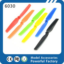 NEW 6colors multirotor 6030 propeller 6 inch propellers rc helicopter fixed wing QAV mini quadcopter multirotor 6030 propeller(China)