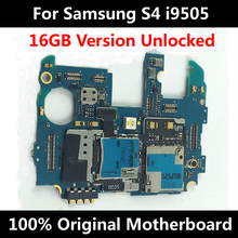 For Samsung Galaxy S4 i9505 16GB Original Unlocked Official Phone Motherboard 100% Good Quality Mainboard With Chips Logic Board