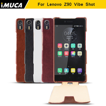 for Lenovo Vibe Shot Z90 case cover for Lenovo Z90 Z90-7 case Luxury Leather Flip phone cases IMUCA brand mobile phone cover(China)