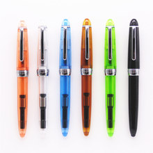Jinhao 992 All Colour spiral Round interface Types office student Fine Nib Fountain Pen New(China)