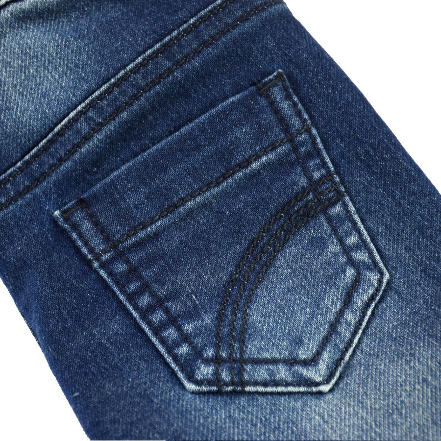 HSIN1609004-5Infant Baby Boy&Girl Denim Jeans Pants Newborn Bebe Soft Harem Pants Toddler Kid Stretch Jeans Solid Trousers Children Clothing