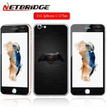 For Apple Iphone 6 6Plus 6s Tempered Glass Full Screen Protector Film 4.7 5.5 Inch Front + Back Film Colorful Fanny Pattern