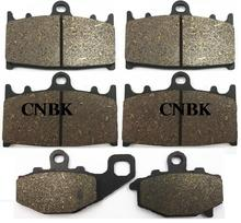 FL+FR+R Brake Pad Set for KAWASAKI 600 ZZR (ZX 600 E4-E13) ZZR600 ZX600 1997 1998 1999 2000 2001 2002 2003 2004 1996 - 2005