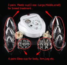 Magic-NV The factory price breast Portable Cellulite fat reduction & vacuum therapy cupping machine