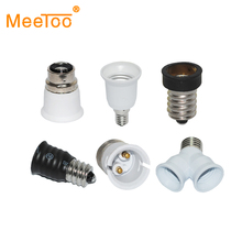 E27 E14 GU10 G9 E12 B22 GU24 G24 Base Mutual Conversion lamp Holders Converter Socket Adapter Lampholders For LED Bulb Light