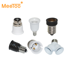 E27 E14 GU10 G9 E12 B22 GU24 G24 Base Mutual Conversion lamp Holders Converter Socket Adapter Lampholders For LED Bulb Light(China)