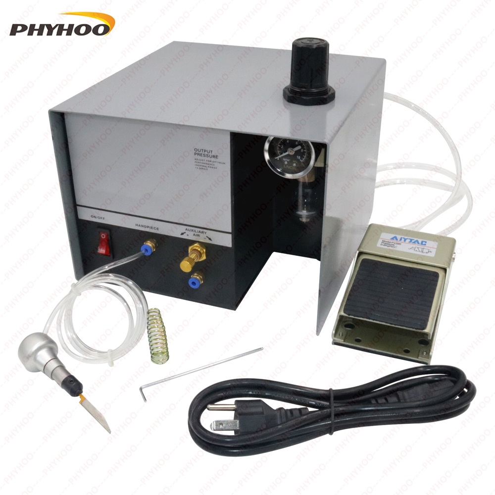 Pneumatic Impact Engraving Machine GraverMate Jewelry Engraver Single Ended 110/220v