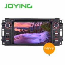 "JOYING 6.2"" Android 5.1.1 Car Stereo DVD Player GPS Navigation for Chrysler Dodge Jeep Commander/Compass/Grand Cherokee(China)"