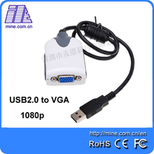 Wholesale USB to VGA Display Adapter UV170 with Factory Price 1080p USB VGA Graphic Card(China)