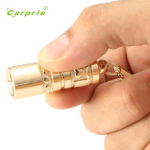 CARPRIE outdoor Golden Mini Portable LED Flashlight Torch Lamp Handheld Camping Keychain Light l70407