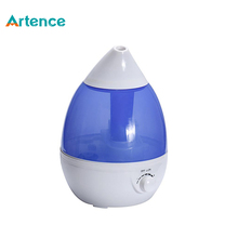 Water Drop Style 1.5L Ultrasonic Humidifier Aroma Diffuser for Home Office LED Night Light  Air Purifier Atomizer Mist Maker