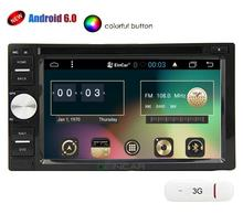 3G Dongle + Eincar Android 6.0 Car Radio stereo with Multi-Touch Screen GPS Navigation with DVD Player External Micro included(China)