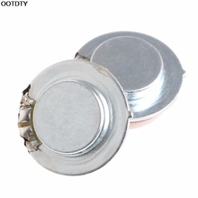 2Pcs 27mm Speaker Vibration Resonance 3W 4 Ohm High Fidelity Audio Stereo - L060 New hot