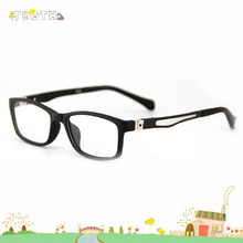 TRUTH children glasses 180 degree flex hinge transparent lenses Sunglasses for children superlight soft oculos infantil reading(China)