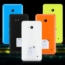 For Microsoft Lumia 640 Dual SIM  Battery Door Back Housing Smartphones Accessories Cover for Lumia640 LTE Dual Case Shells