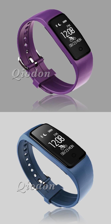 Waterproof Music Control Smart Wristband Band Heart Rate Monitor Pedometer Smartband Fitness Bracelet Tracker PK fitbits mi band 4