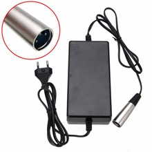 Buy Mayitr 3 Male 36V 1.6A Connector Lead Acid Electric Battery Charger IZIP HG1000 E-1000 Bike Scooter for $12.99 in AliExpress store