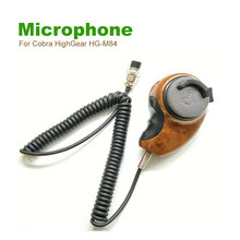 1X MH-84 Noise Canceling CB Radio Mic For Cobra HighGear HG-M84 Woodgrain HGM84