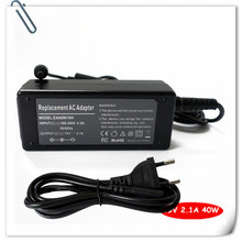 Laptop AC Adapter For Samsung Series Slate 5/7/9 XE550C22-A01US Netbook Battery Charger Power Supply Cord 19V 2.1A 40W