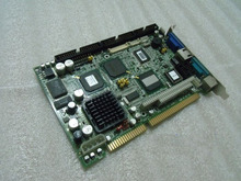 New For Advantech PCA-6751 B202-1 ISA Industrial PC Mainboard Half-Size CPU Card PICMG1.0 With CPU RAM Lan PC104