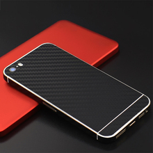 Yojock Phone Skin Sticker Case for iPhone 5s 5 3D Carbon Fiber Full Body Back Film Sticker Cover Wrap Skin For Apple iPhone 5s 5(China)