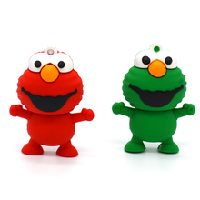 mini small usb flash drive memory stick 4GB 8GB 16GB 32GB Mini Elmo USB Flash Drive from SESAME USB pen drive thumb pendrive