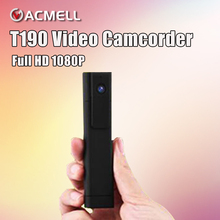T190 Micro Camera H.264 Full HD 1080P Pen Camera Wide Angle Voice Digital Meeting Recorder Mini DV DVR Camcorder Support TV Out