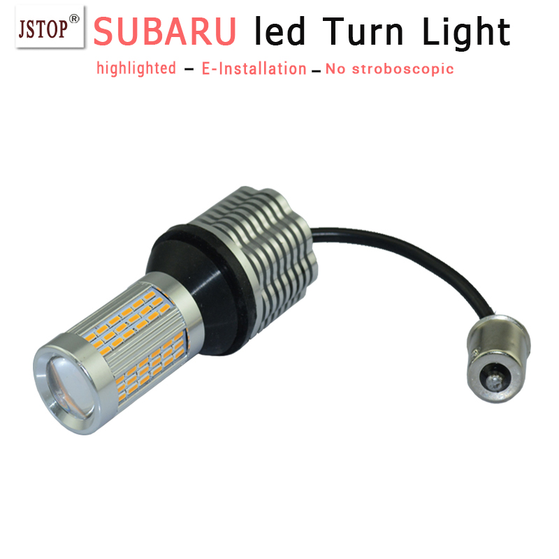 Legacy led Turn Signals light canbus lamp 1156 12VAC PY21W Lamps turn light T20 P21W led Turn bulbs BA15S auto exterior lamp <br><br>Aliexpress