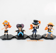 One Piece 71 Edition Action Figure Ace Luffy Sabo Trafalgar Law Dolls PVC ACGN figure Garage Kit Brinquedos Anime(China)