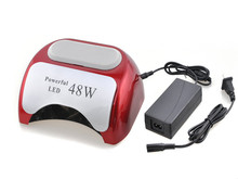 48W CCFL Nail Dryer Best Curing LED Lamp Nail Art Light Care Machine for UV Gel Nail Polish US/UK/EU/AU Plug Auto-sensing ZT852