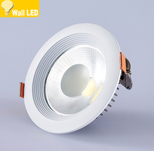 New Dimmable Led Downlight COB Spot LED 3w 5w 12w 20w 30w led recessed ceiling Lamp Warm Cool White led Spot Indoor Lights(China)