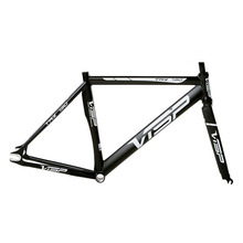 frame 700C 48/50/51/54/58/60cm VISP790 fixed gear frame aluminium alloy mountain bicycle frame road Bike frame fork(China)