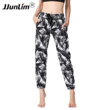 Buy Printed Women Yoga Pants High Waist Sports Yoga Pants Workout Fitness Sports Trousers Women Yoga Trousers Loose Running Pants for $17.39 in AliExpress store