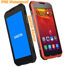 "IP68 Shockproof Waterproof Phone SANTIN #Armor super 2GB RAM 5"" AMOLED screen mtk6752 Octa Core LTE 4G Android phone Smartphone"
