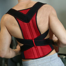 Men's Posture Corrector Orthopedic Posture Corset Back Support Belt Back Brace Support Men Back Straightener Round Shoulder B003