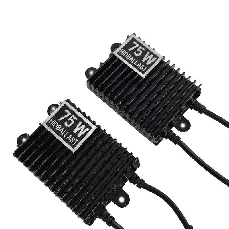 1 pcs 75W HID Xenon Ballast Digital Electronic Ballast Blocks for Xenon Headlight Lamp H1 H3 H4 H7 9005 HB4 9006<br><br>Aliexpress