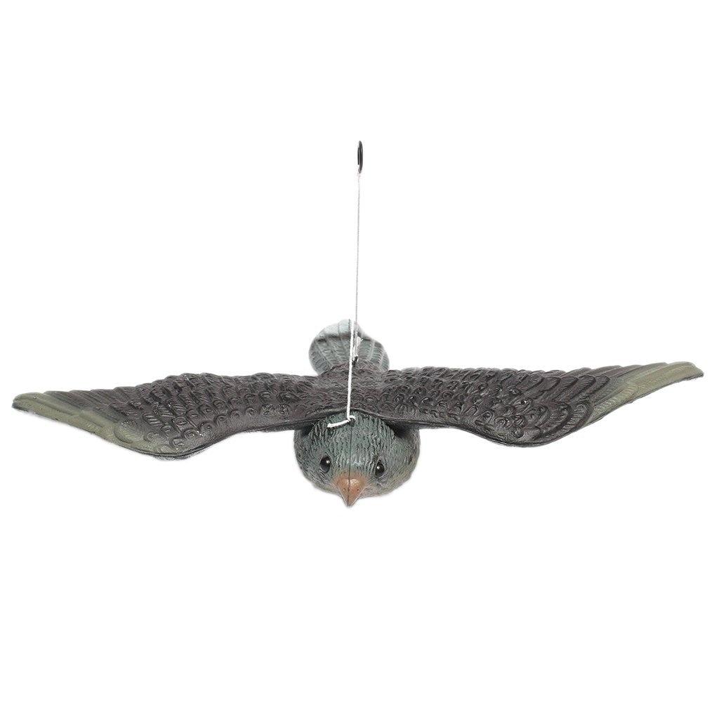 Pigeon Scarer Scarecrow Flying Decoy Pest Control Falcon Bird Repellent