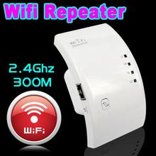 kebidu 300Mbps Wifi Repeater Wireless 2.4 GHz WLAN Wifi Network Router Range Expander 802.11N/B/G Signal Booster Amplifier(China)