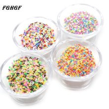 FGHGF Colorful Candy Fake Cake Dessert Polymer Clay Diy Sugar Simulation Food Miniature Cake DIY Decoration(China)