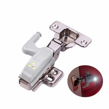10Pcs Universal Cabinet Cupboard Hinge light LED light Closet lamp Bulb Wardrobe System Modern Home Kitchen Lamp(China)