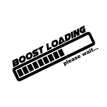HotMeiNi Boost loading vinyl decal funny gas JDM stickers illest car window graphic turbo(China)