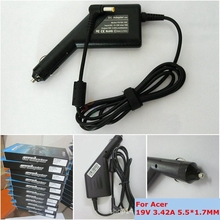 19V 3.42A 5.5x1.7mm Universal Laptop Car Adapter Charger For Acer Aspire 5315 5630 5735 5920 5535 5738 6920 7520 SADP-65KB 1690