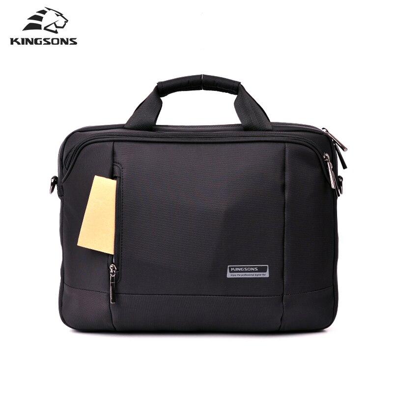 Kingsons 14 inch Laptop Handbags Waterproof Briefcase Mans Totes Noble Business Series Nylon<br>