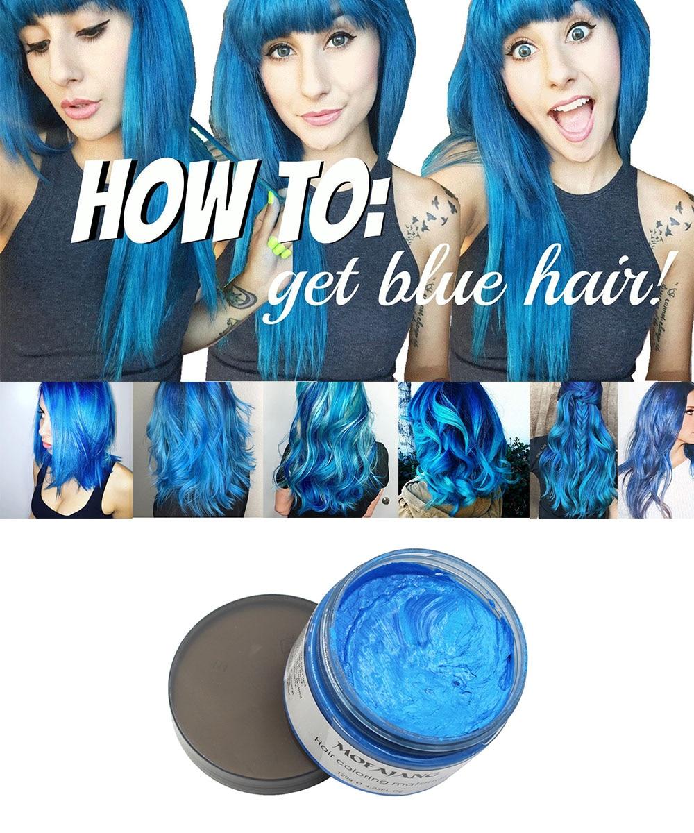 Blue hair wax1 3